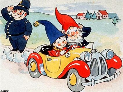 Image result for noddy and big ears mr plod blyton images