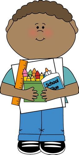 Image result for student desk-Supplies Clip Art
