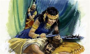Image result for samson's hair gets cut in the bible