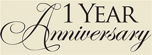 Image result for happy one year business anniversary