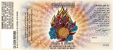 Image result for captain lawrence hop n roses