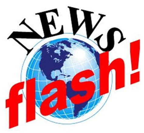 Image result for news flash