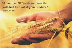 Image result for God wants OUR FIRST FRUITS