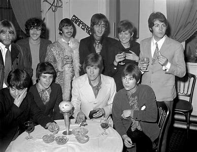Image result for beatles with cilla and george best images