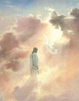 Image result for Jesus' ascension into heaven