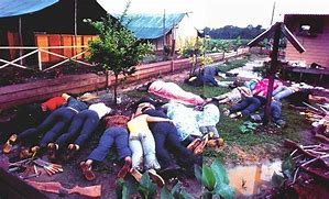 Image result for Guyana Jim Jones mass deaths