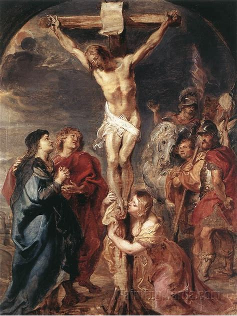 Image result for art of Christ On The Cross