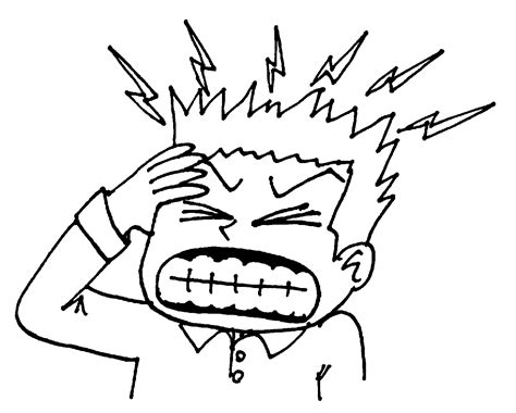 Image result for free clipart headache