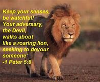 Image result for 1 Peter 5:8