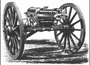 Image result for Early Gatling Gun