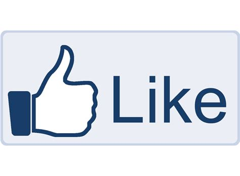 Image result for like facebook button