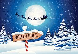 Image result for free images of the North Pole with kids