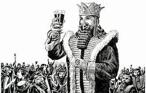 Image result for king belshazzar bible