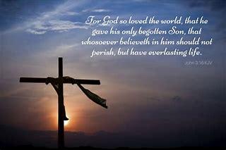 Image result for For God so loved the world