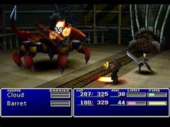 Image result for Space Battle FF7