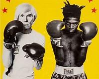 Image result for Warhol vs Basquiat