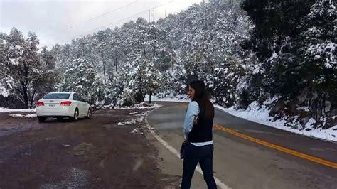 Resultado de imagen de fotos de las nevadas en sonora