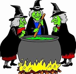 Image result for images of 3 witches stirring cauldron