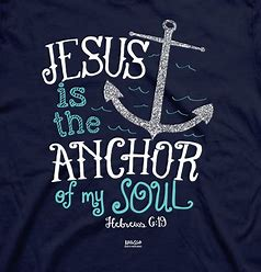 Image result for Jesus is our anchor
