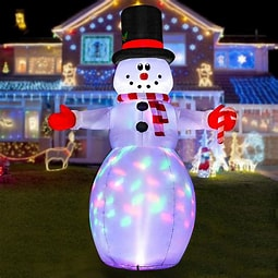 Image result for Images Yards with Inflatable Displays Christmas. Size: 204 x 204. Source: www.walmart.com