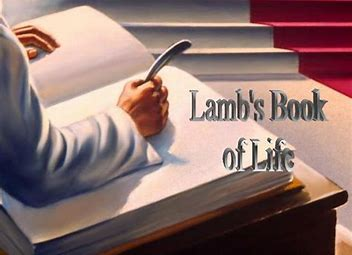 Image result for whoever's name is not written in the lamb's book of life