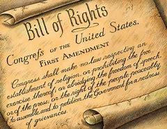 Image result for 1st Amendment
