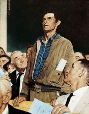 Résultat d'images pour freedom of speech rockwell