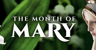 Image result for May the Month of Mary. Size: 304 x 122. Source: jsrdiocese.blogspot.com