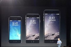 Image result for Is the iPhone 6 and 6 plus the same size?. Size: 240 x 160. Source: www.shoutpedia.com
