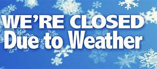 Image result for snow closing for website