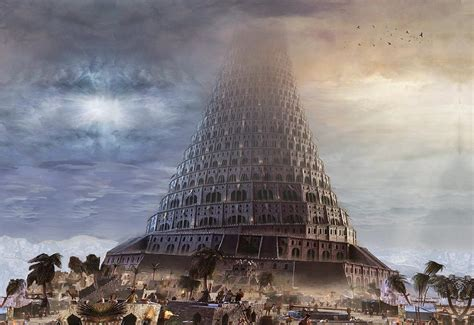 Image result for the tower of babel in the bible