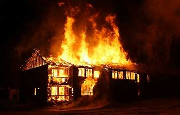 Image result for images of house on fire