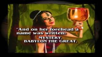 Image result for written on the whore of babylon's head