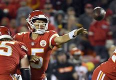 Image result for Mahomes crazy throw