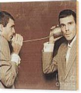 Image result for people talking on antique telephones