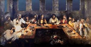 Image result for jesus' disciple passover pics