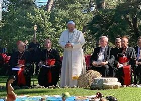 Image result for images of pachamama at vatican