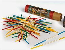 Image result for pick up sticks