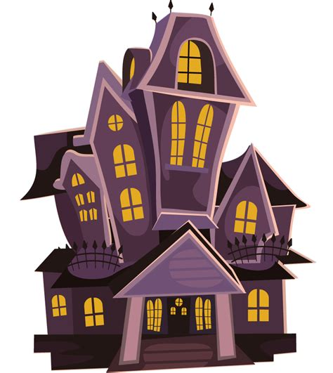 Image result for haunted house clipart