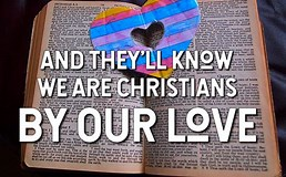 Image result for they will know we are christians by our love. Size: 258 x 160. Source: www.godsongs.net