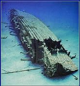 Image result for Lusitania Wreck
