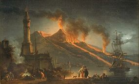 Image result for Mount Vesuvius erupted