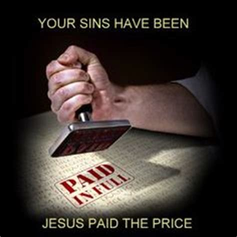 Image result for Jesus paid the price