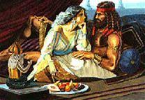 Image result for Samson could not resist deliliah