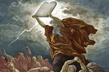 Image result for Commandments on stone