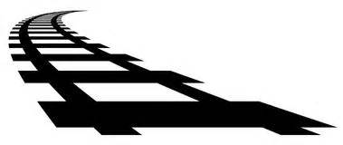 Image result for train tracks silhouette clip art free