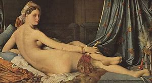 Image result for painting odalisque naked