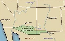Image result for Gadsden Purchase.