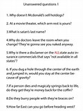 Image result for Funny Unanswerable Questions. Size: 120 x 160. Source: funnyjunk.com