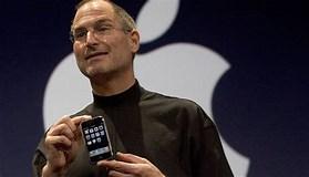 Image result for iPhone Steve Jobs. Size: 279 x 160. Source: bigmedium.com